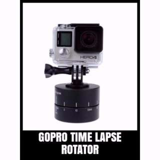 GP TLP-001 TIME LAPSE ROTATOR TRIPOD HEAD FOR CAMERAS, DSLR'S, GOPRO'S AND SMARTPHONES