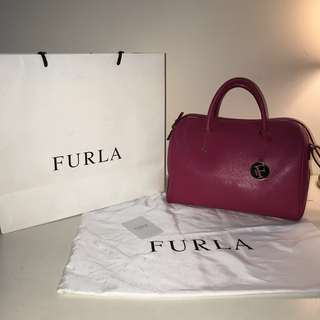 [AUTHENTIC] Furla Alissa L Satchel