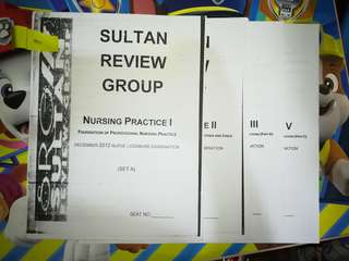 SRG Nursing Board Exam Reviewer NP 1,2,3 and 5