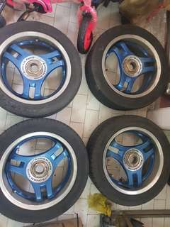ADVAN RACING SPANDER MADE IN JAPAN pcd100