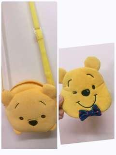 Pooh 小熊維尼 散子包 斜咩袋