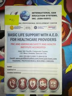 BLS handouts