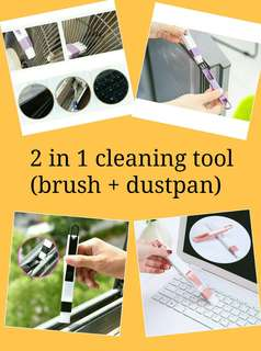 2 in 1 cleaning tool