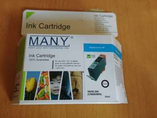 HP Printer 影印機黑色代用墨 (564XLBK)