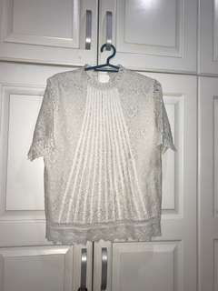 Laced Blouse with small stain