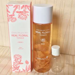 Natural pacific NACIFIC real flower rose toner 10ml