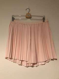 SEED HERITAGE - Pale Pink Pleated Shorts BNWT