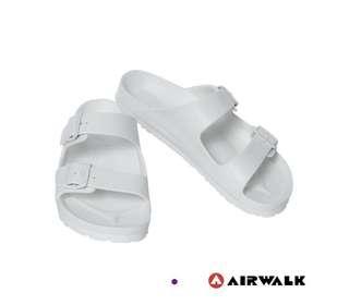 Airwalk 白勃肯拖鞋
