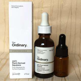 THE ORDINARY 100% plant derived squalane 5ml