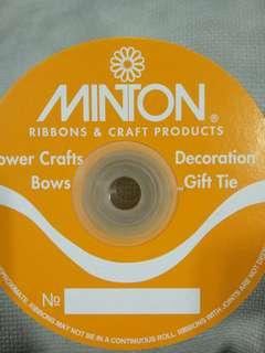 🚚 Buttercup Satin ribbon