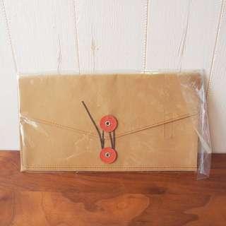 無印良品Muji紙皮袋卡片小物收納bag file