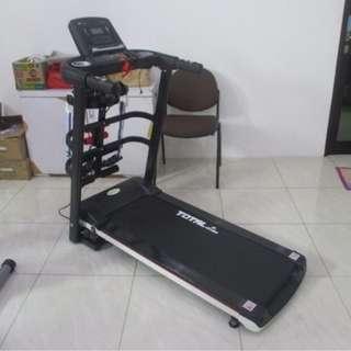 Treadmill Elektrik 3 in 1 + Alat Pelangsing TL 607 Untuk Olahraga Jogging