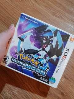 Sale! Pokemon Ultra Moon Nintendo 3DS
