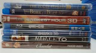 Original Blu-ray Movies unopened