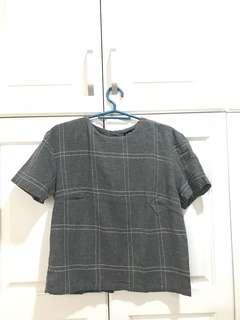 Gray Something Borrowed size S