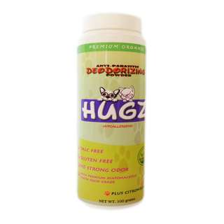 Hugz Anti-Parasitic Organic Powder for Dogs and Cats 100g
