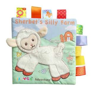 Baby Educational Soft Cloth Activity Book
