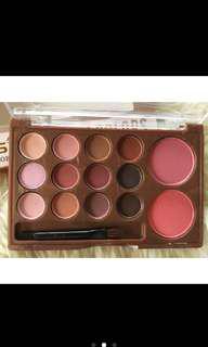 shadows blush on palette
