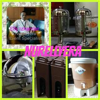 Water dispenser & Buffet tray For Rental All Occasions Event