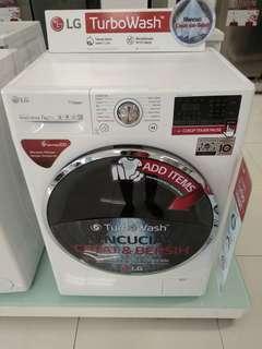 Promo Dp 0% mesin cuci LG 7kg bisa kredit tanpa kartu kredit