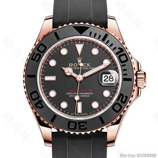 ROLEX 268655 YACHT-MASTER 37 OYSTER 37MM EVEROSE GOLD