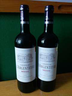【Red Wine紅酒】 Chateau l'Argenteyre, MEDOC, FRANCE (750ml) 2009 Aggregated Critic Score 88/100