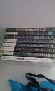 Xbox360 games CDs