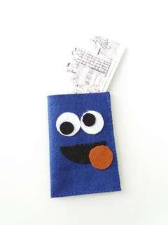 Ezlink Card Holder-Cookie Monster
