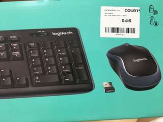 MK270R Full size wireless keyboard and mouse combo