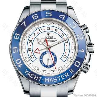 ROLEX 116680_WHITE YACHT-MASTER II OYSTER 44MM STEEL