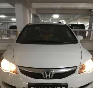 Honda Civic for rental