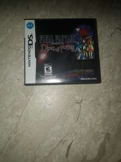 Nintendo DS Final Fantasy Crystal Chronicles Ring of Fates