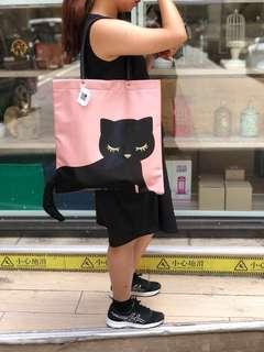 日本黑色凸尾siempre貓 shopping bad