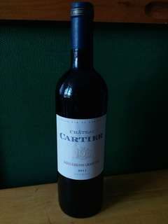 【Red Wine紅酒】 2011 Chateau Cartier, Saint-Emilion Grand Cru, France (750ml)
