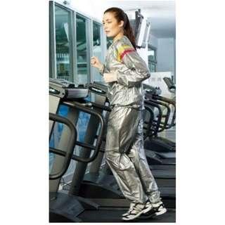 Setelan Baju Jaket Sauna Suit Good Quality Untuk Olah Raga Lari Jogging