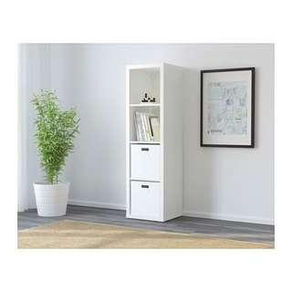 Ikea Kallax Shelving unit with drawers