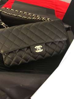 Authentic brand new chanel medium double flap