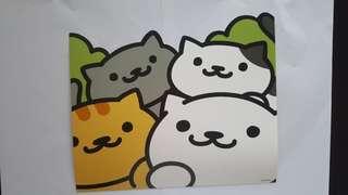 Neko Atsume 貓貓卡 包平郵
