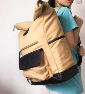 Zero Gravity MNL Vintage Roll-Up Backpack