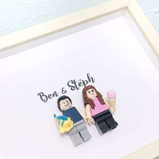 Customised lego gift