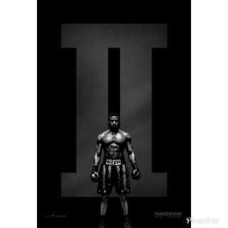 Creed 2 Poster 2018