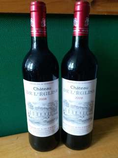 【Red Wine紅酒】 Chateau De L'Eglise, Bordeaux, France (750ml)