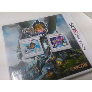 WTS 3DS Game : MH3U and Pokemon Y