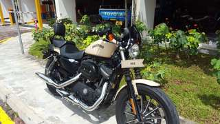 Dec2013 HARLEY HD sportster 883 iron