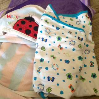 Bedung Baby or modern swaddle