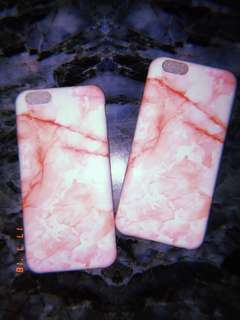 PINK Marble Cases for iphone 6/6s 💖