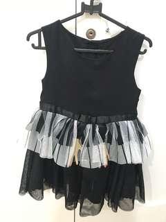 h&m piano dress
