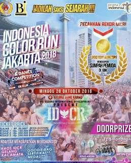 Jual Tiket Color Run Jakarta 2018