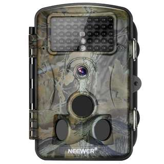 1420. Neewer 1080P 12MP HD Infrared Digital Trail Camera 2.4 inches LCD Display, 120 Degree Wide Angle Night Vision,Waterproof Dustproof for Hunting Scouting Surveillance