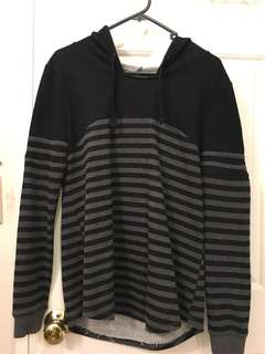 Hooded Striped Longsleeve